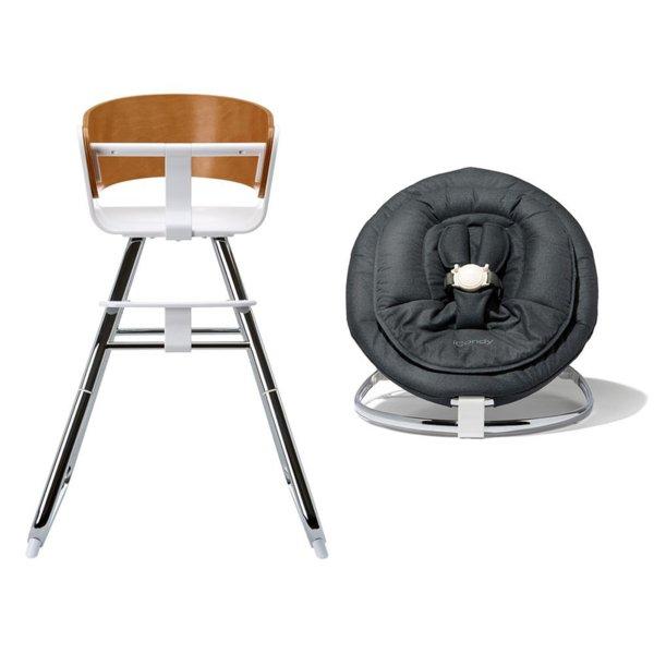 Столче за хранене MiChair + шезлонг